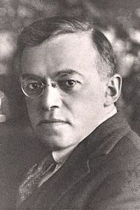 Ze'ev Jabotinsky. Image courtesy of Wikipedia